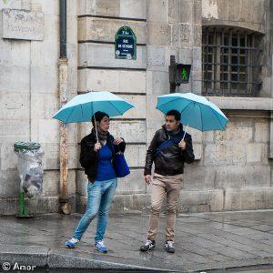 Deux parapluies