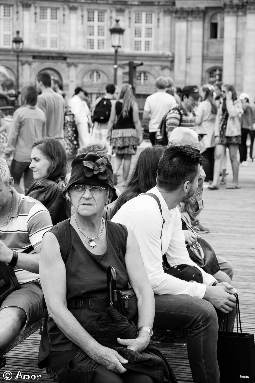 Pause sur le pont
