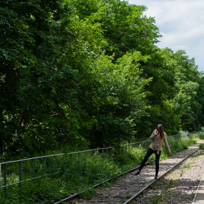 Sur un rail