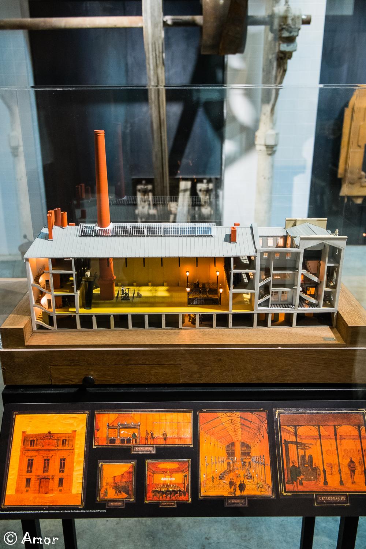 Maquette de l'usine
