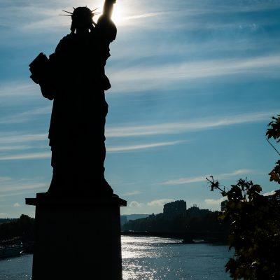 Lumière sur Miss Liberty