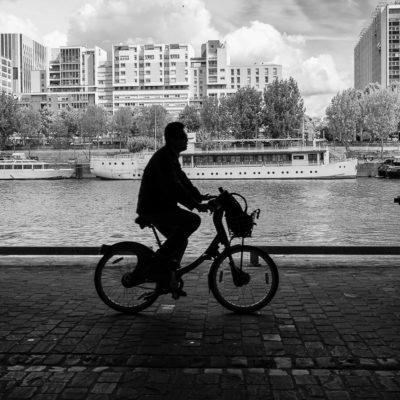 Vélo en Seine