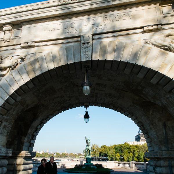 Arche centrale Viaduc de Passy