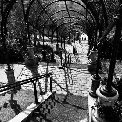 Escalier en cage