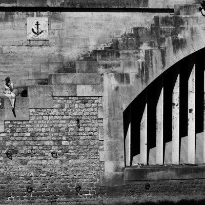 Escalier sous escalier