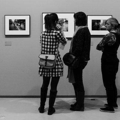 Une œuvre en noir et blanc
