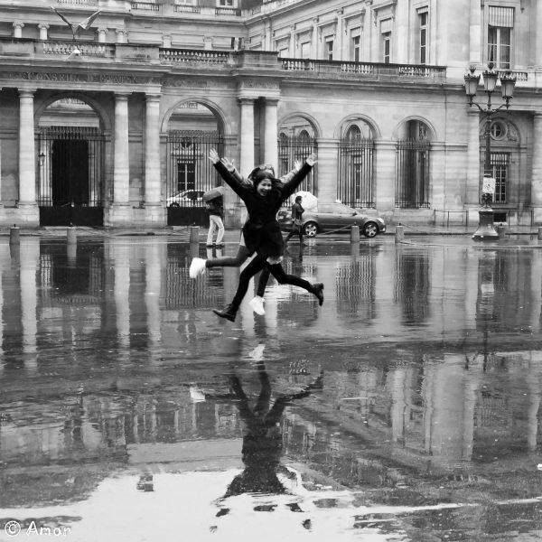 Sautons sous la pluie