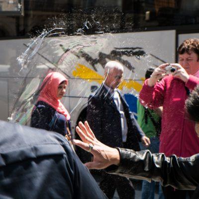Coincée la bulle