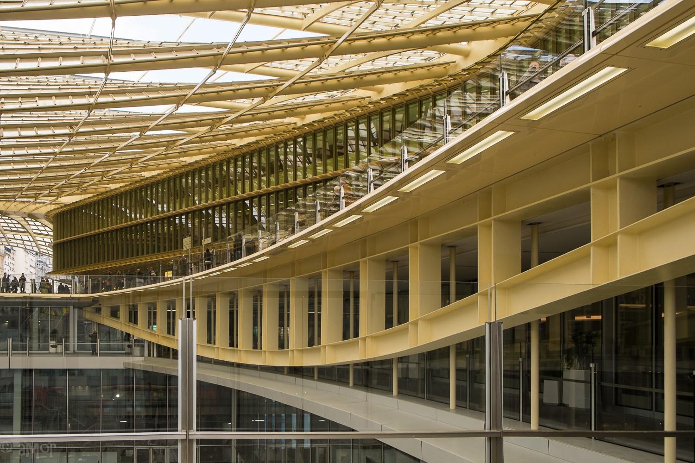 Halles-canopée