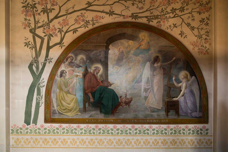Fresque Saint Luc